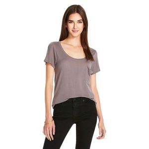 Mossimo Oversized Micromodal T-Shirt with Pocket